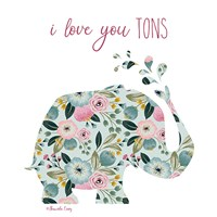 Love You Tons Fine Art Print