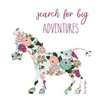 Search for Big Adventures Fine Art Print