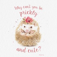 Prickly and Cute Fine Art Print
