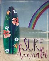 Surf Hanalei Fine Art Print