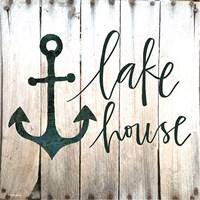 Lake House Fine Art Print