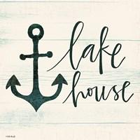 Lake House II Fine Art Print