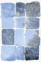 Blue Abstract II Fine Art Print