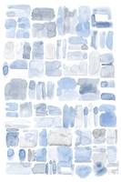 Blue Abstract V Fine Art Print