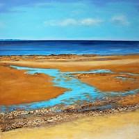 Blue Horizon Fine Art Print