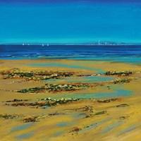 Coastal Colour Strip I Fine Art Print