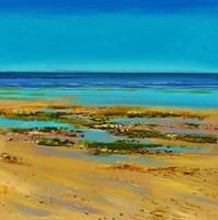 Coastal Colour Strip III Fine Art Print