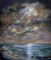 Moody Moon Light I Fine Art Print