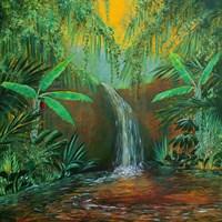 Jungle Pool Fine Art Print