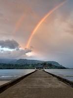 Rainbow Pier III Fine Art Print