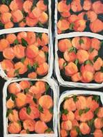 Farmer's Market Peaches Fine Art Print