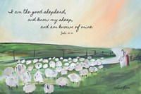 Parable of the Lost Sheep Fine Art Print