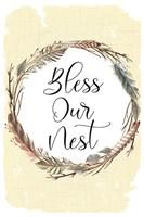 Bless Our Nest Fine Art Print