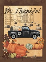 Be Thankful III Fine Art Print