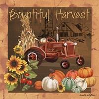 Bountiful Harvest V Fine Art Print