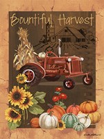 Bountiful Harvest VI Fine Art Print