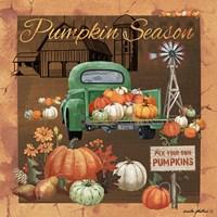 Pumpkin Season V Fine Art Print