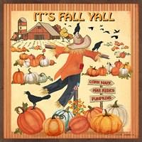 It's Fall Y'all Fine Art Print