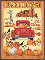 Pumpkin Patch II Fine Art Print