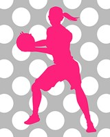 Basketball Girl Fine Art Print