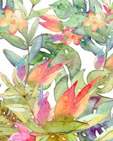 Tropical Watercolor Fine Art Print