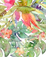 Tropical Watercolor II Fine Art Print