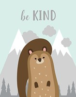 Be Kind Squirrel Fine Art Print