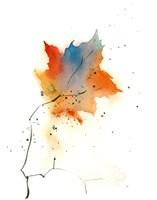 Fall Leaves III Fine Art Print