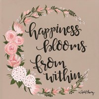 Happiness Blooms from Within Fine Art Print