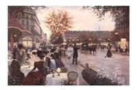 Paris in the Evening Fine Art Print