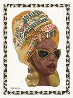 Side Portrait 1 Framed Print