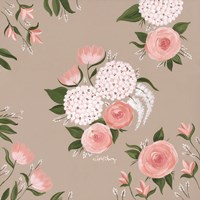 Pink and White Floral Fine Art Print