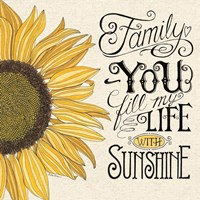 Fill My Life With Sunshine Fine Art Print