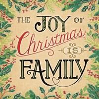 Joy of Christmas Fine Art Print