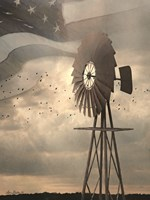 Land That I Love Windmill I Fine Art Print