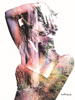 Wilderness Woman I Fine Art Print
