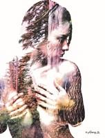 Wilderness Woman III Fine Art Print