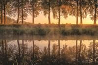 Sunrise in the Netherlands Fine Art Print