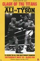 Ali vs Tyson Fine Art Print
