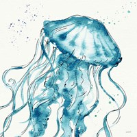 Deep Sea X Teal Fine Art Print