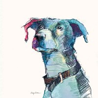 Puck Watercolor Pastel Fine Art Print