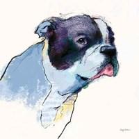 Jason Watercolor Pastel Fine Art Print