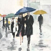 City In The Rain II Fine Art Print