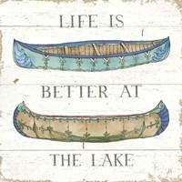 Lake Sketches V Color Fine Art Print