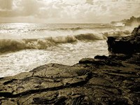 Pahoa Sea Fine Art Print