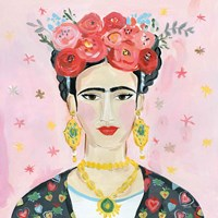 Homage to Frida Shoulders Fine Art Print