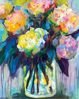 Full of Hydrangeas Fine Art Print