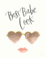 Boss Babe II Framed Print