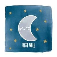 Night Sky Rest Well Framed Print