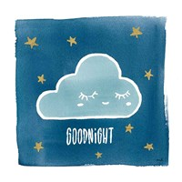 Night Sky Goodnight Fine Art Print